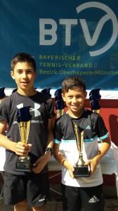 von links Maxi und Marco Ontiveros
