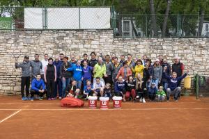 Teilnehmer Tennisreise Kroatien 2019