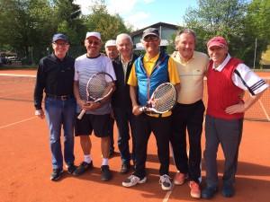 Martin Kramer sen., Arno Deger, Uli Rödel, Achim Scharbert, Hans Mummert, Alfred Gierscher, Bert Neumayr