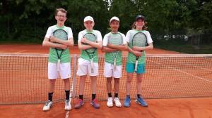 Knaben I 25.05.2019 Lorenz, Jonas, Maxi, Liam