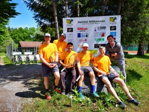 Herren 40 I 02.06.2019 Prams, Hecker, Ontiveros, Gross, Scheuermann, Kramer jun.