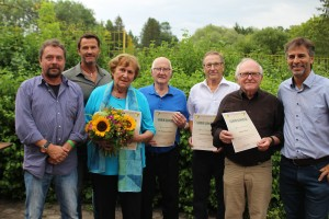 Christian Braun, Martin Kramer, Ursula Gilcher, Dr. Rainer Gilcher, Konrad März, Hans März, Kai-Uwe Krönfeld