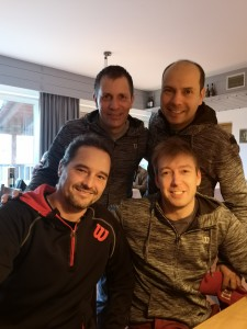 Roland Hecker, Ralf Gross, Nito Ontiveros, Werner Schmid