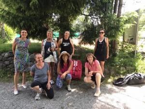 Micha, Tanja, Rosi, Deokcha, Ines, Petra