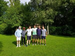 Jonas, Maxi, Basti, Pete, Chris, Stefan