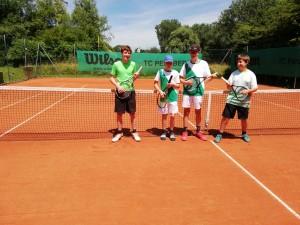 Liam, Veit, Lorenz, Julian