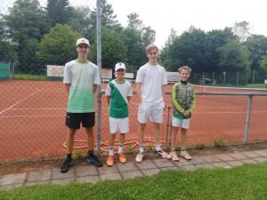 Matthias, Julius, Beni, Jakob