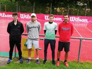 Das Trainerteam - Jan, Kilian, Niklas, David